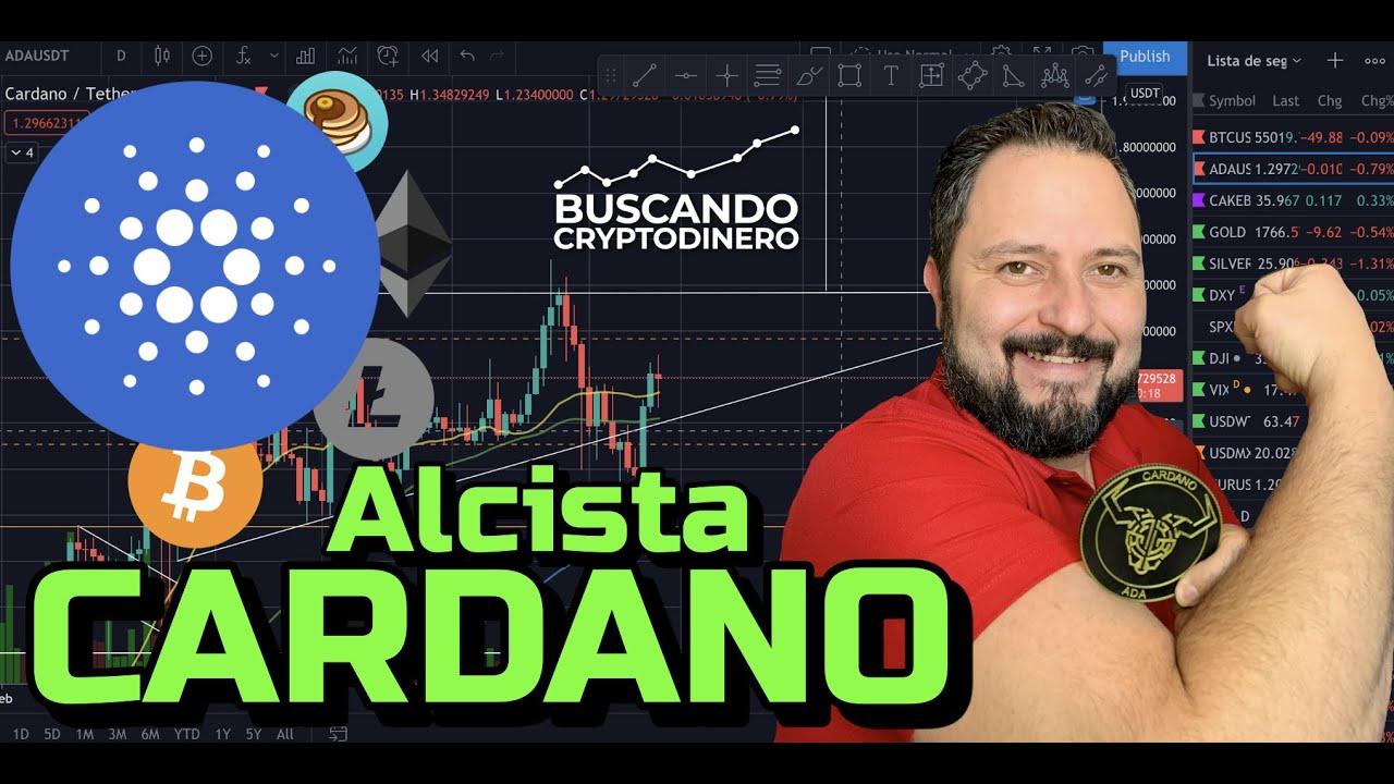 "🔵 CARDANO ""ADA""  Me siento 🔥 ALCISTA !! + 17 Monedas y Rifa de Litecoin !!"