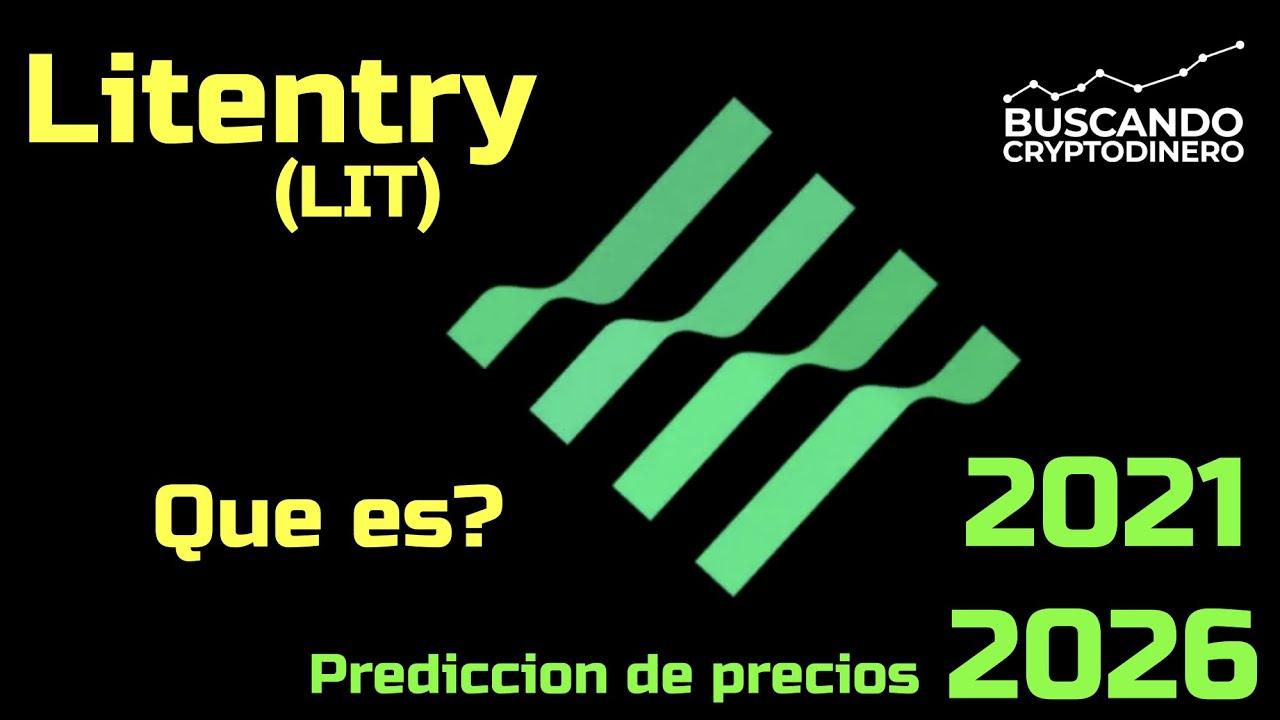 """Litentry """"LIT"""" Que es?? 🔥 ☞Predicción de PRECIOS 🤑 2021 2026 ☜    Me CONVIENE invertir 💰?? #defi"""