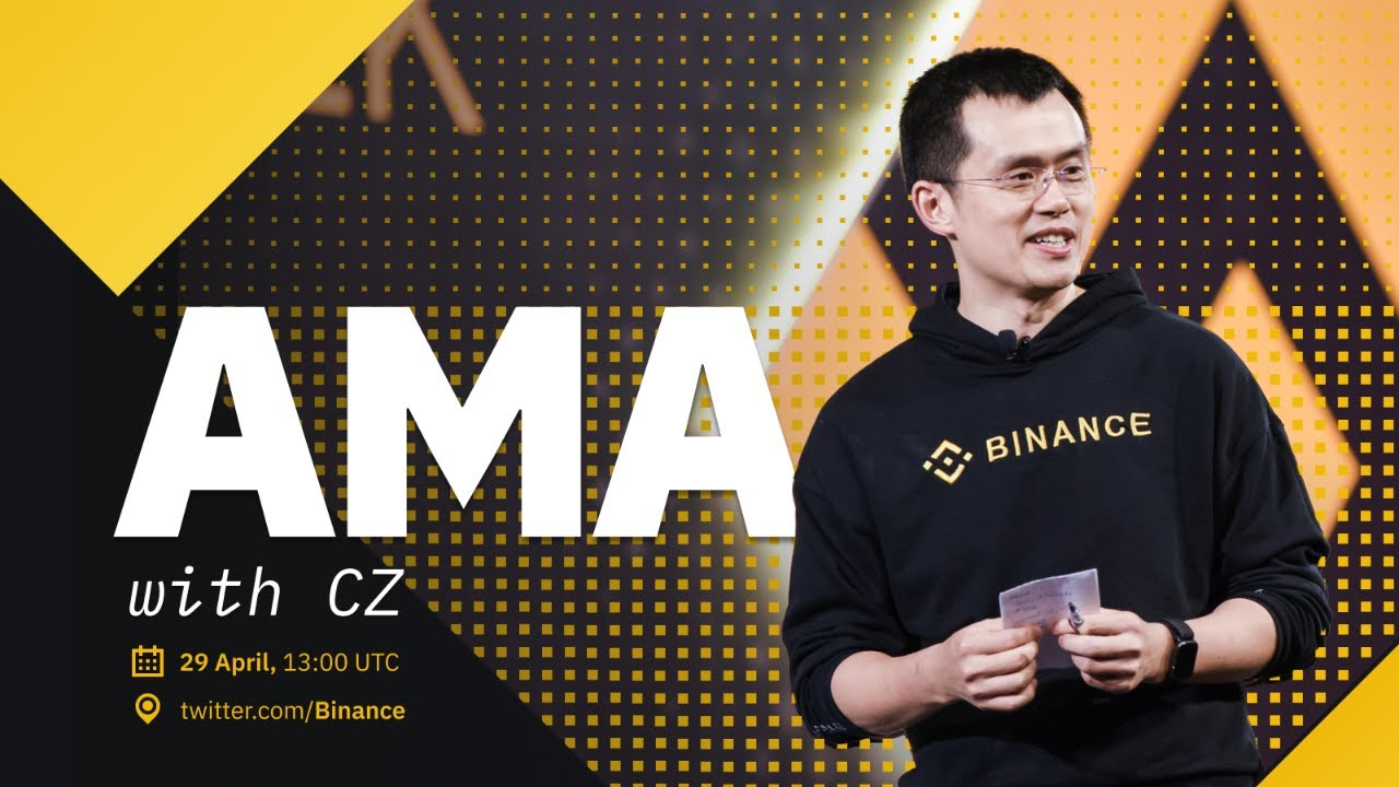 Live AMA with CZ Binance