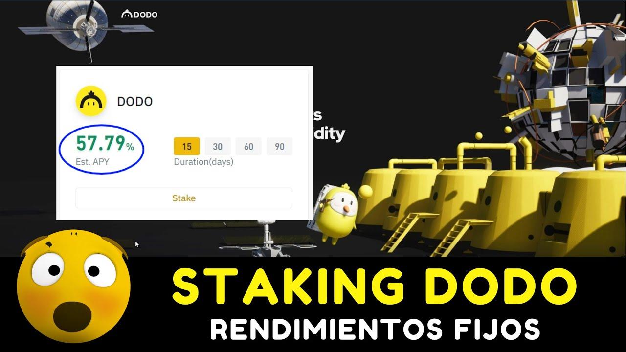 CRIPTOMONEDAS PARA INVERTIR 2021 [Binance tutorial español] DODO staking 57.79% rendimiento anual