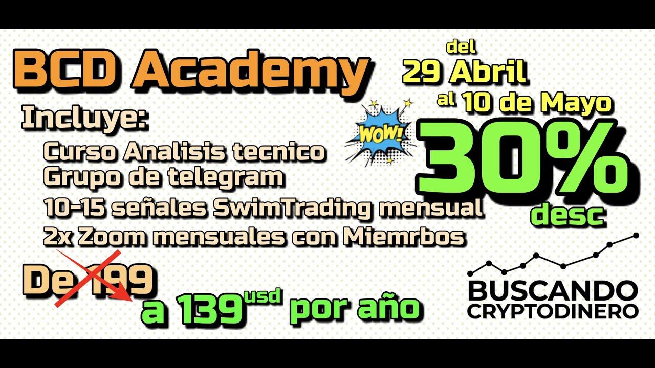 🔥 BCD Academy 30% **Hasta Mayo 10**