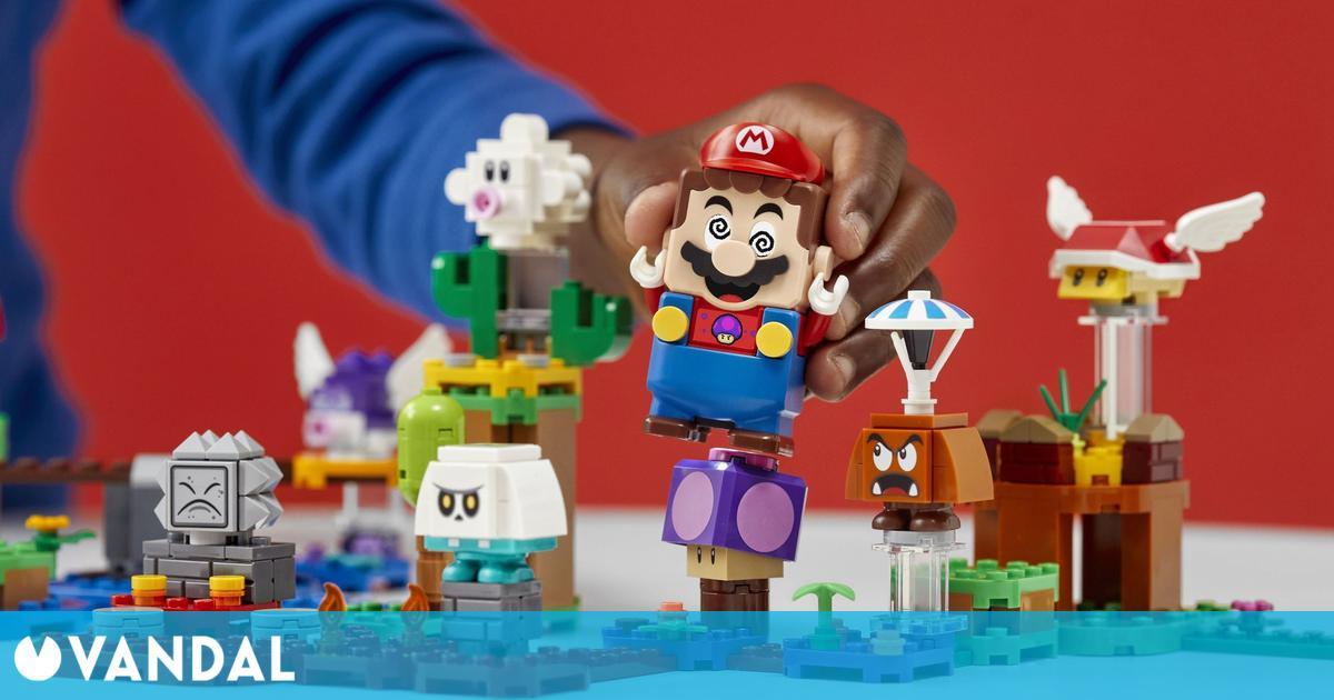 Lego Super Mario se actualiza y ahora busca a Luigi al despertarse