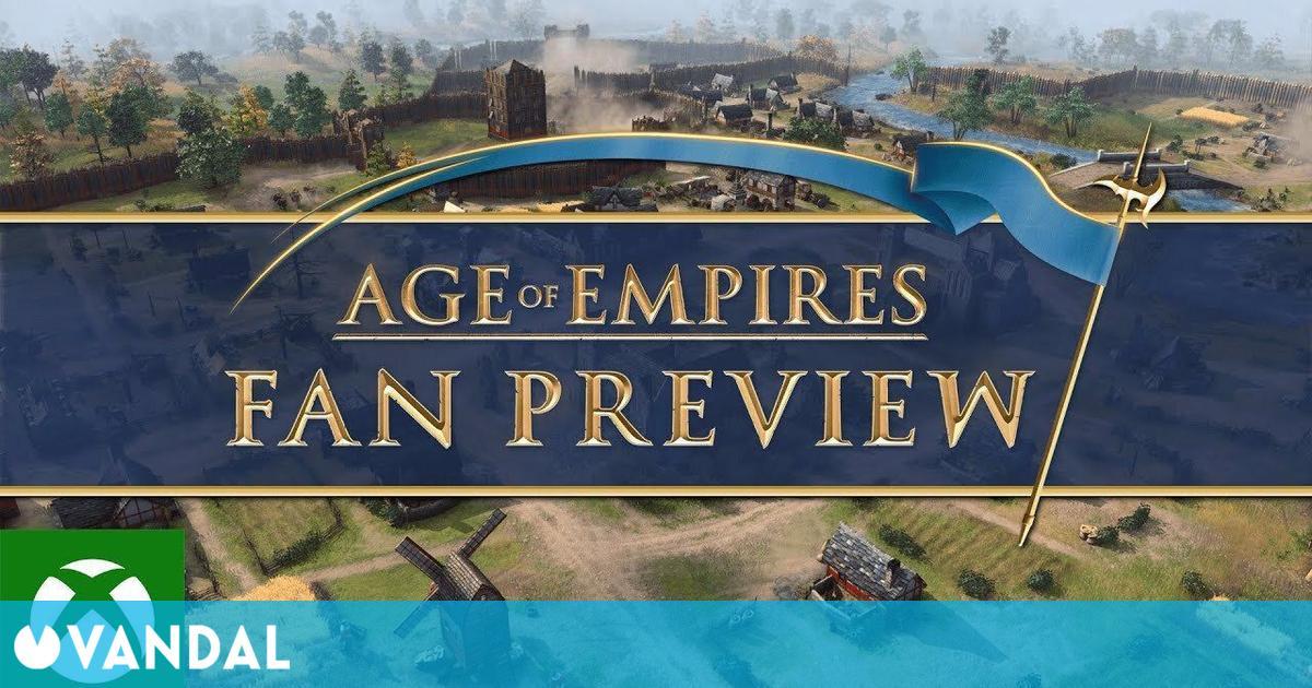 Sigue aquí a partir de las 18:00 la presentación Age of Empires: Fan Preview