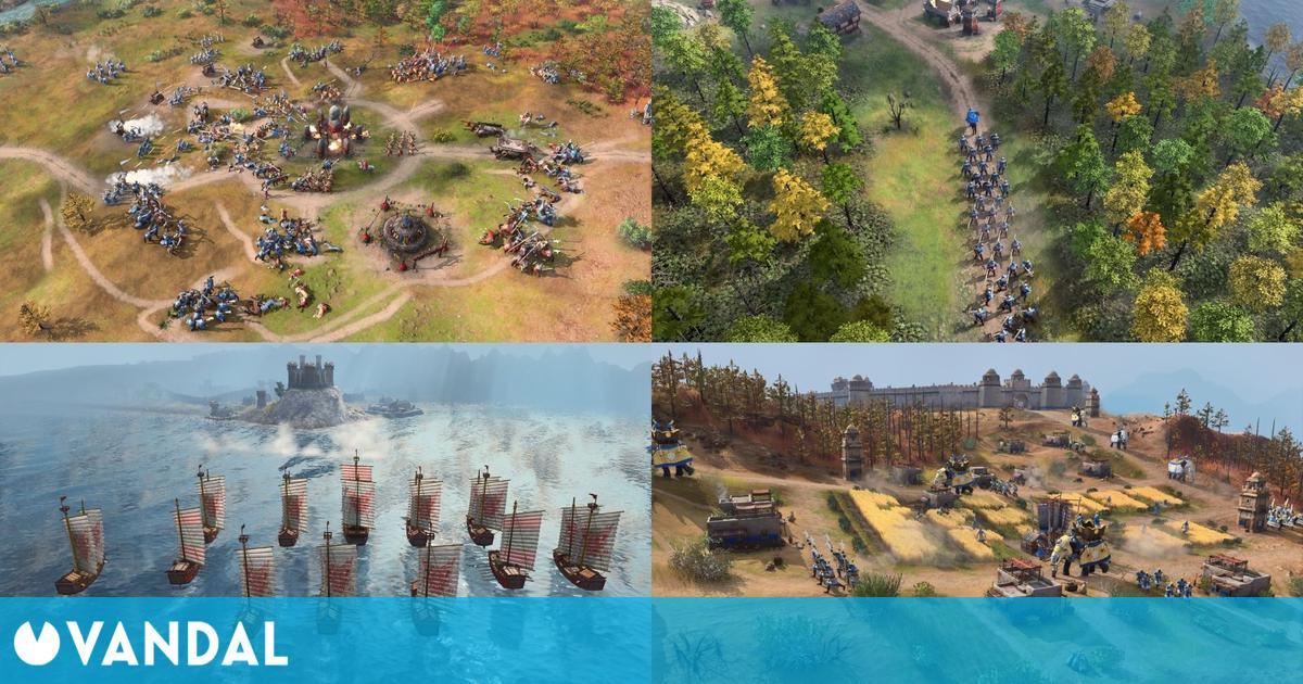 Age of Empires 4: Nuevo gameplay e imágenes del regreso de un mito de la estrategia