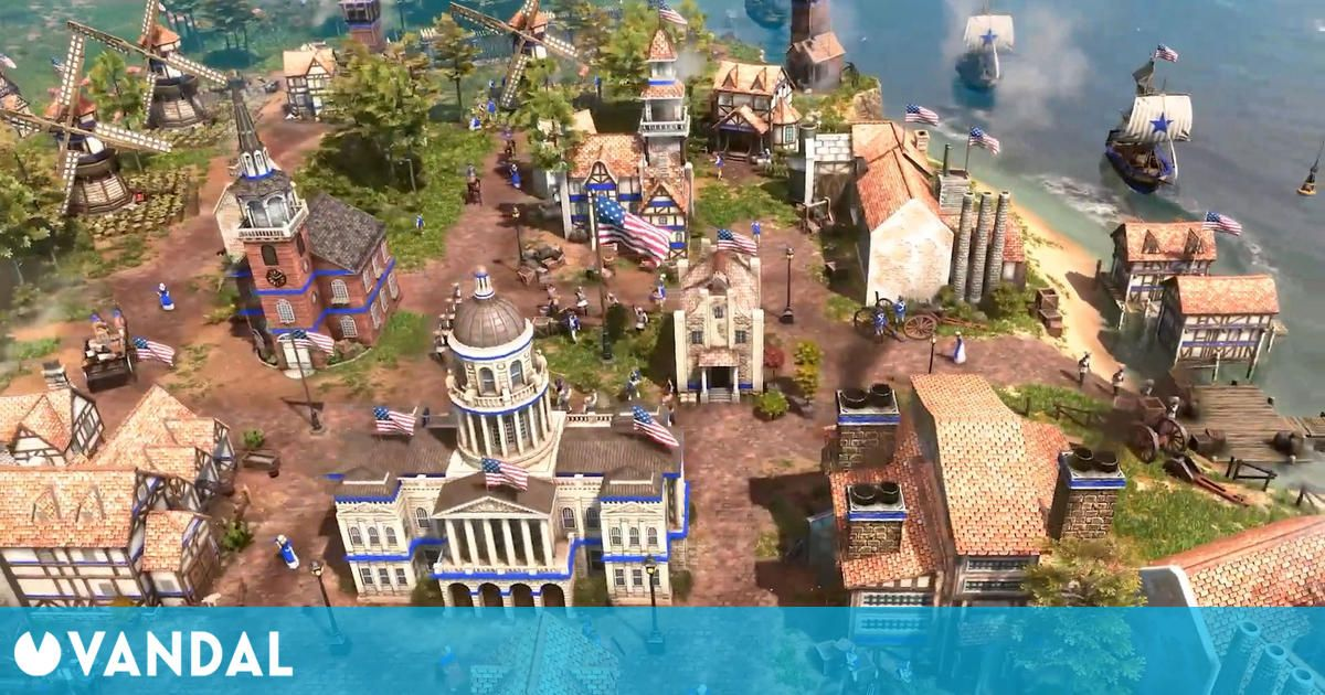 La civilización de Estados Unidos llegará a Age of Empires 3: Definitive Edition el 13 de abril