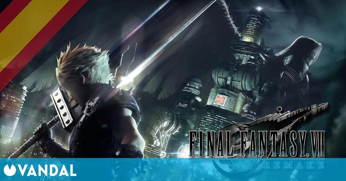 Recrean un tráiler de Final Fantasy VII Remake con voces en español