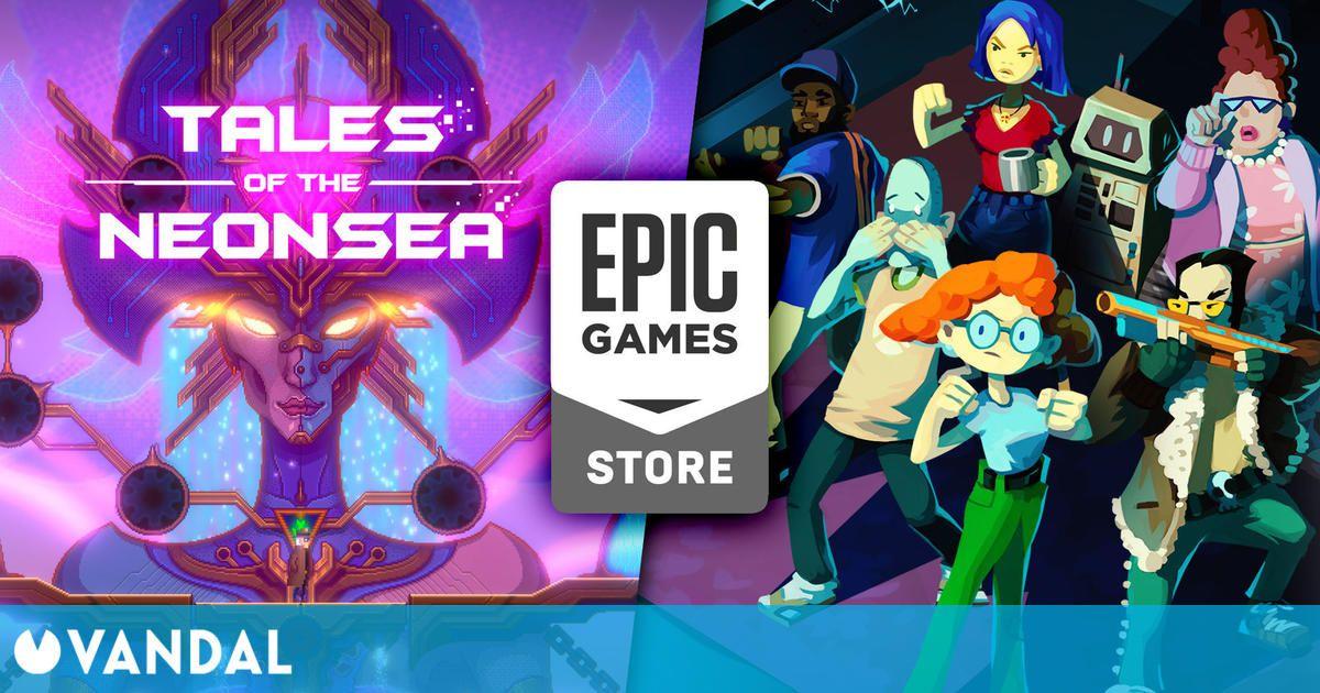 Tales of the Neon Sea y otros 8 juegos gratis que puedes conseguir ya en Epic Games Store