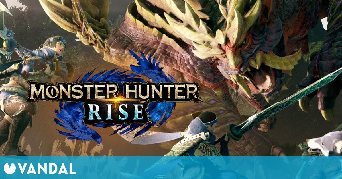 Monster Hunter Rise debuta con éxito en España con casi 20.000 unidades vendidas