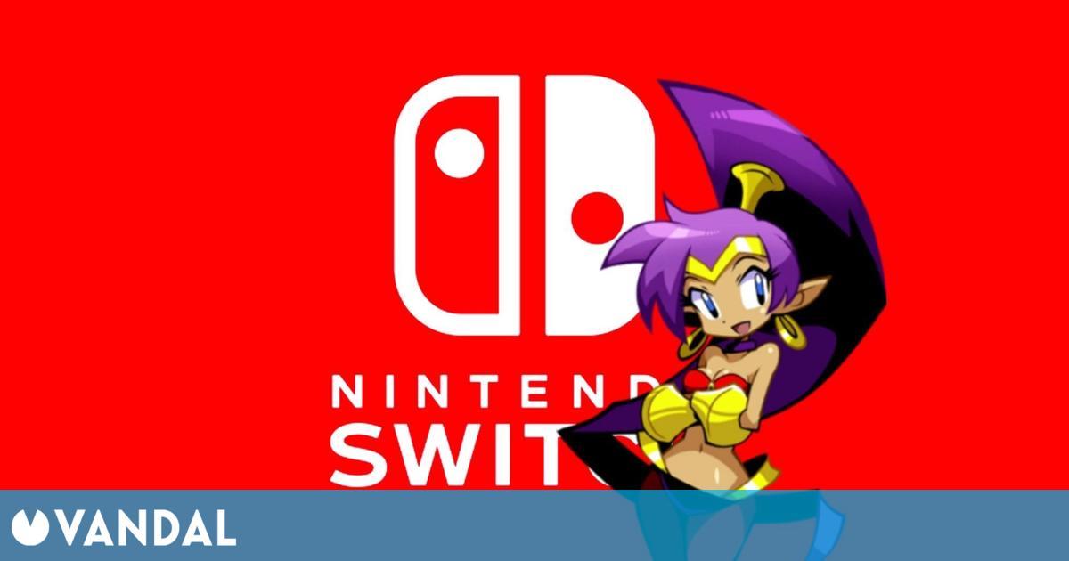 El primer Shantae debutará en Nintendo Switch el próximo 22 de abril
