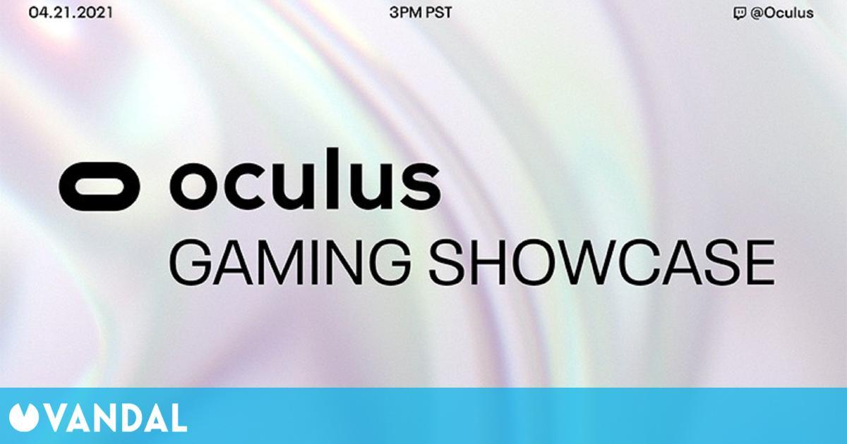 Facebook anuncia un Oculus Gaming Showcase para el 21 de abril