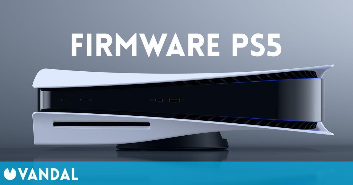 PS5 recibirá mañana su primera gran actualización de firmware; os contamos sus novedades