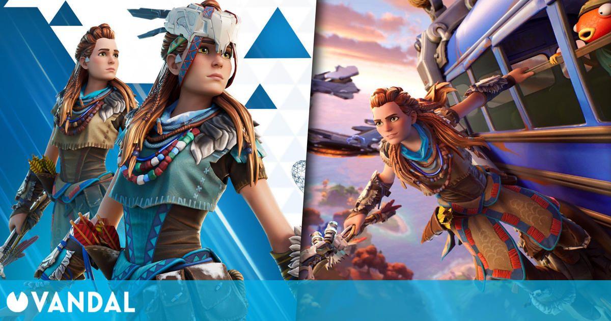 Fortnite recibirá una skin de Aloy de Horizon: Zero Dawn, el 15 de abril