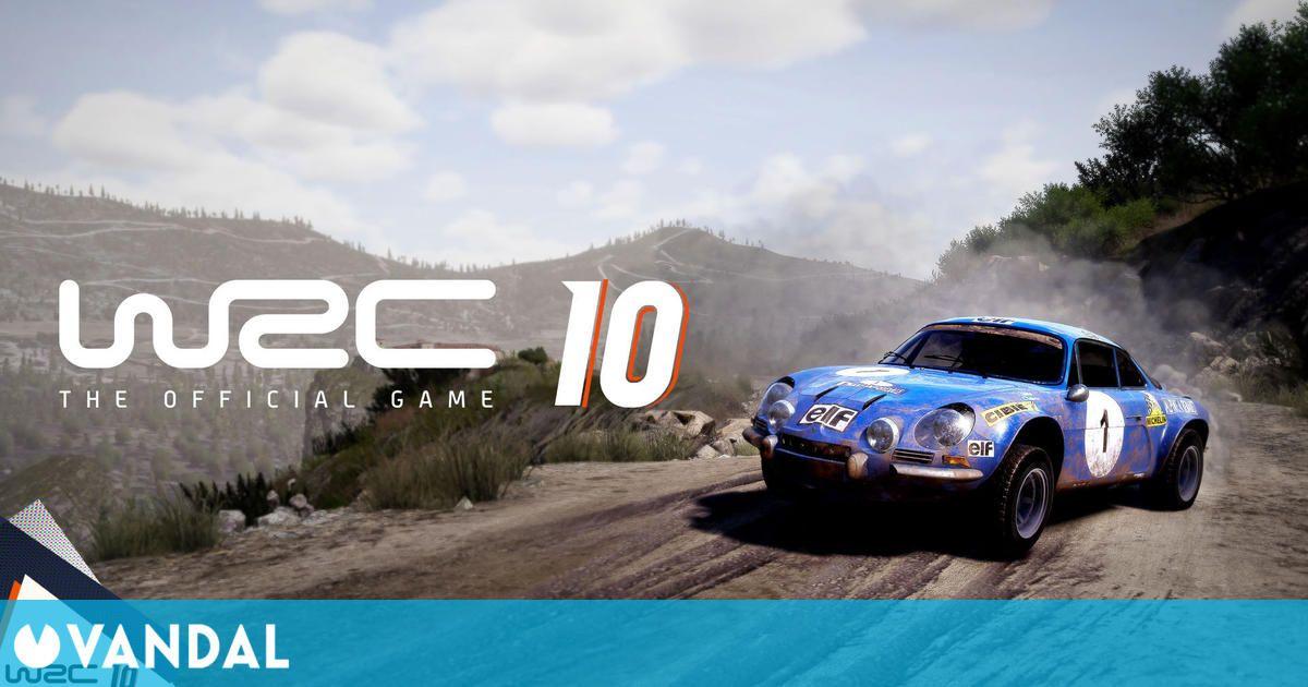 WRC 10 llegará a PS5, Xbox Series X/S, PS4, Xbox One y PC el 2 de septiembre