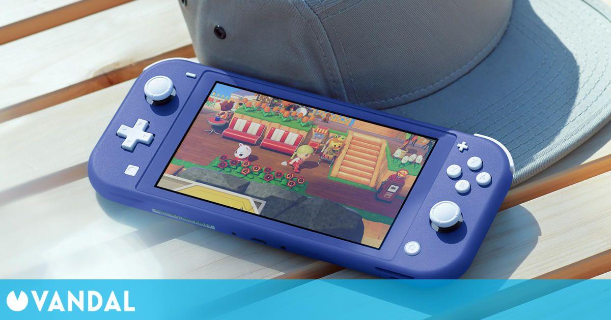 Nintendo anuncia una nueva Switch Lite de color azul que llegará a España el 7 de mayo