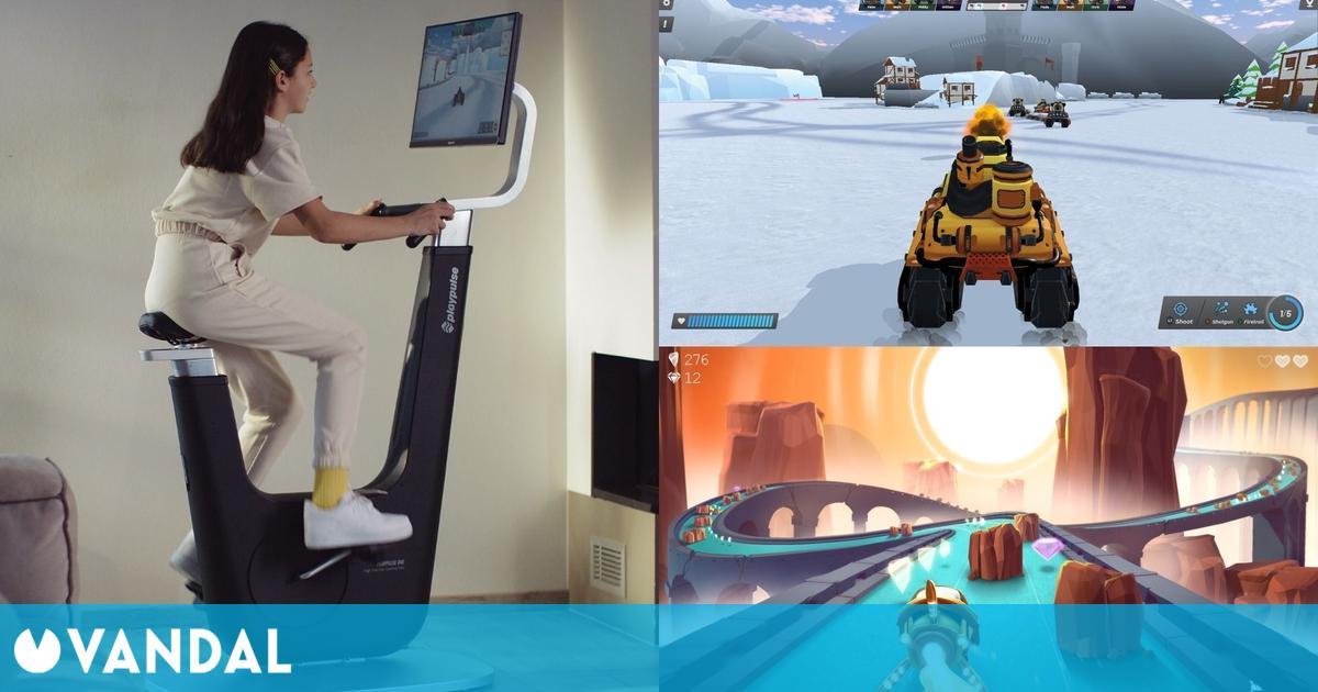 Playpulse One: La nueva bicicleta estática que también es una consola de videojuegos