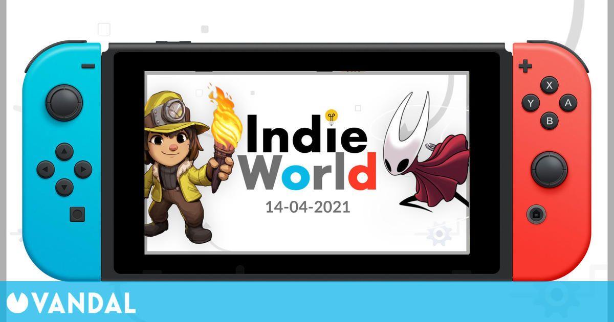Nintendo celebrará mañana un Indie World con novedades para Switch