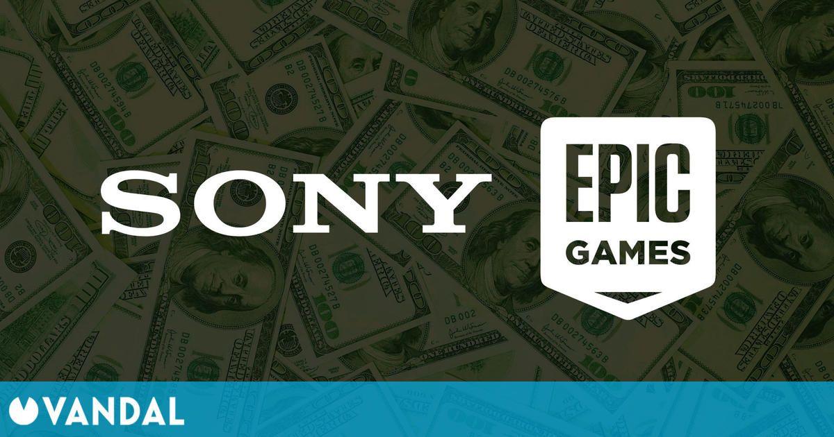 Sony invierte otros 200 millones de dólares en Epic Games