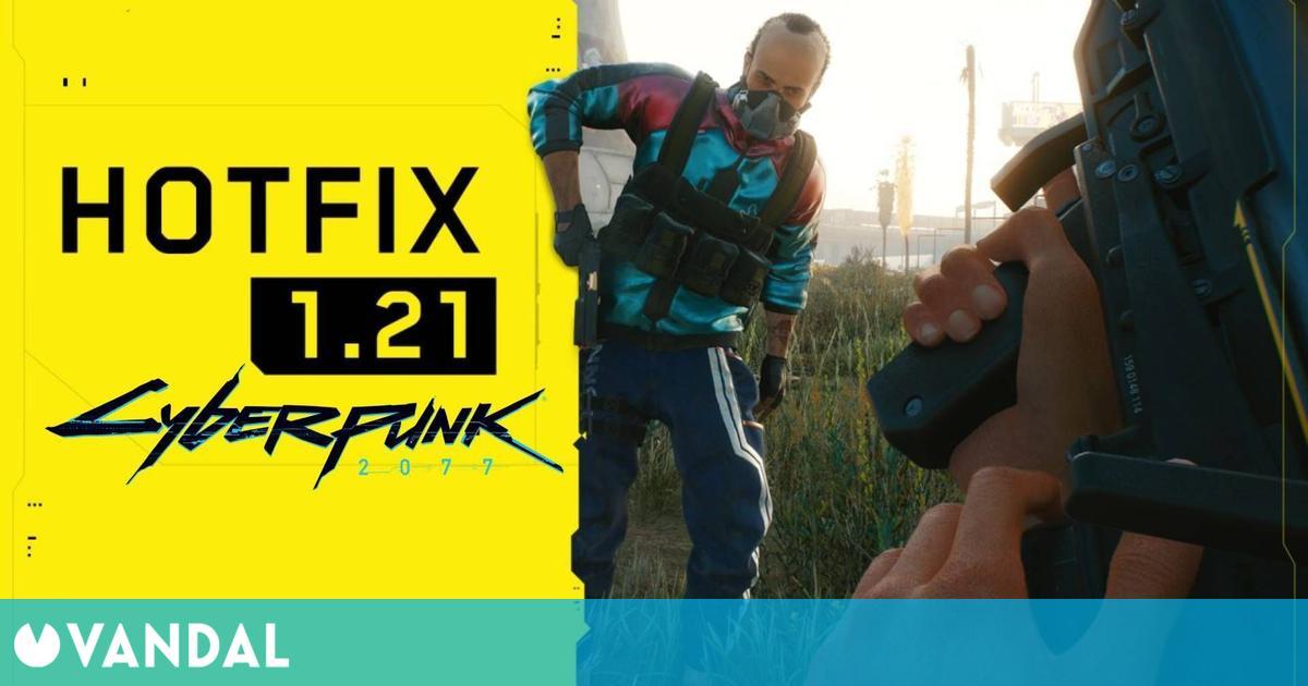 Cyberpunk 2077 recibe el parche 1.21 con alrededor de 40 mejoras y soluciones de bugs
