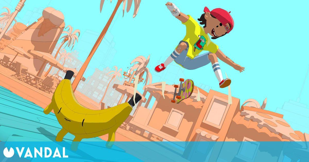 OlliOlli World: Skate colorido este invierno en PS5, Xbox Series X/S, PS4, Switch y PC