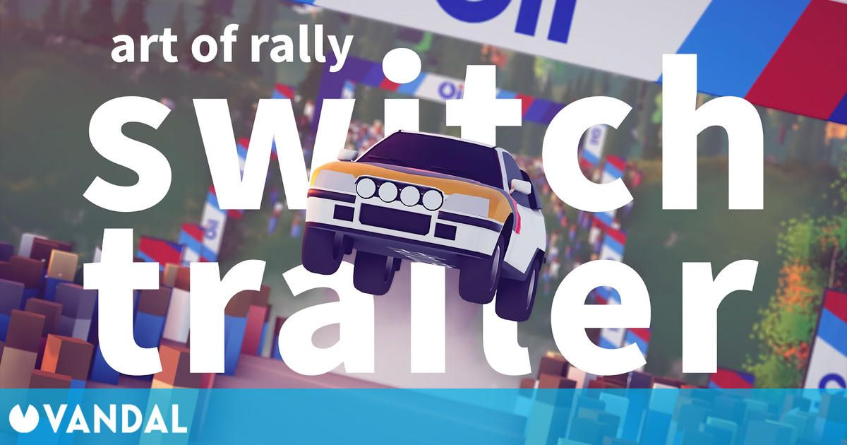 El arcade de velocidad art of rally llegará a Nintendo Switch este verano