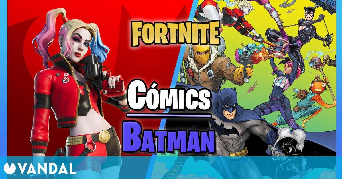 Llegan los cómics de Batman/Fortnite con premios exclusivos: fechas y detalles