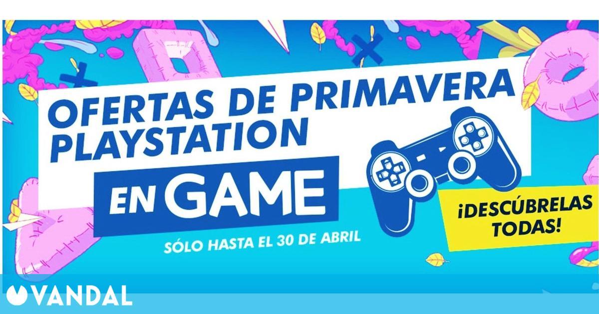 GAME España revela sus Ofertas de Primavera PlayStation hasta el 30 de abril (16/04/2021)