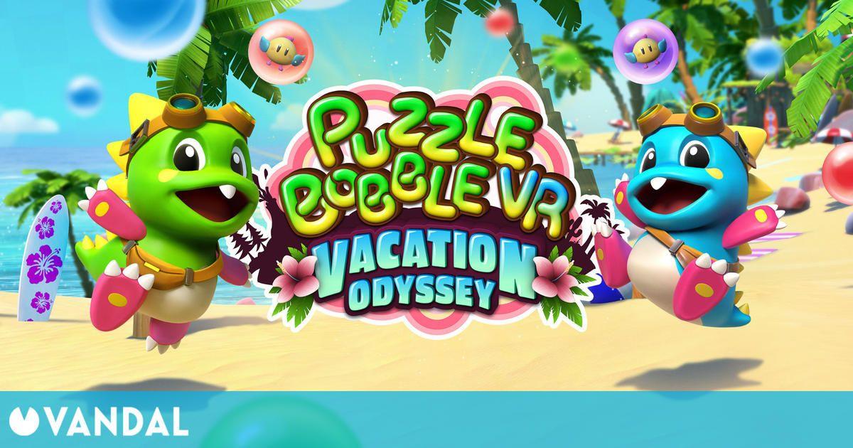 Puzzle Bobble VR: Vacation Odyssey llegará el 20 de mayo a Oculus Quest y Quest 2