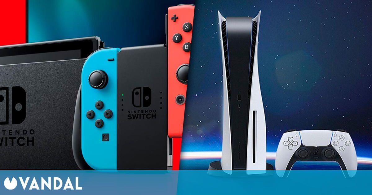 Switch fue la consola más vendida en España en el primer trimestre del año