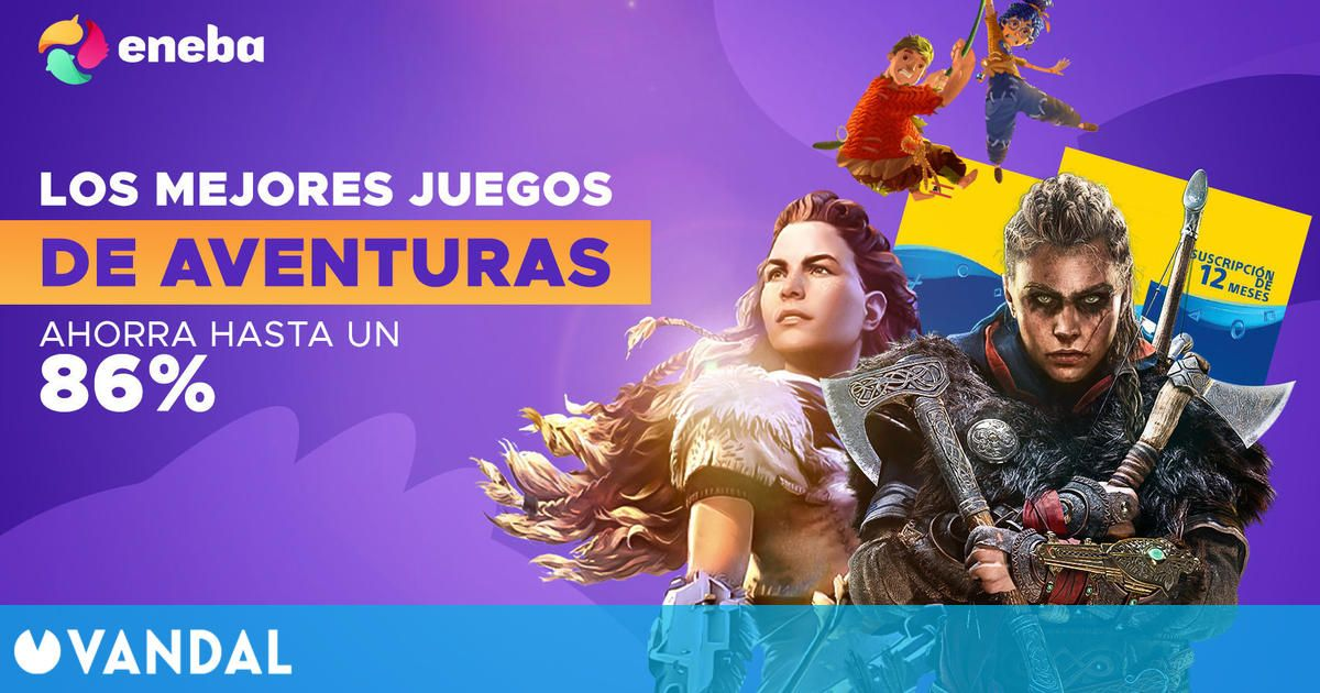 Ofertas en juegos para Steam y PlayStation Plus en Eneba