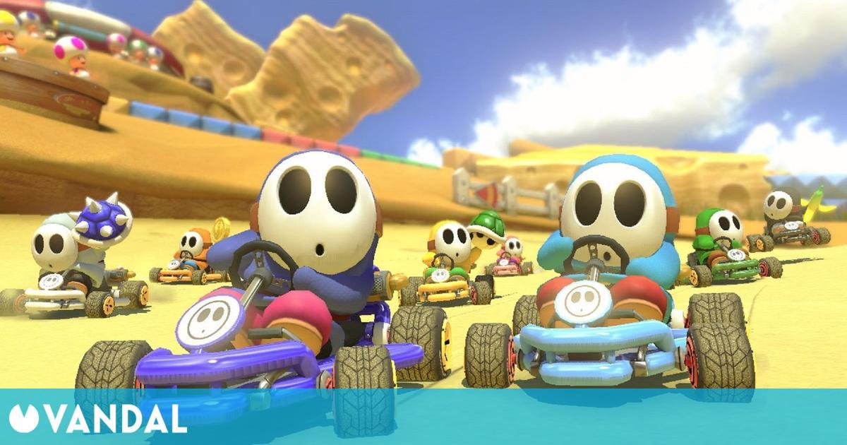 Mario Kart 8 se convierte en el juego de carreras más vendido de la historia de EE.UU.