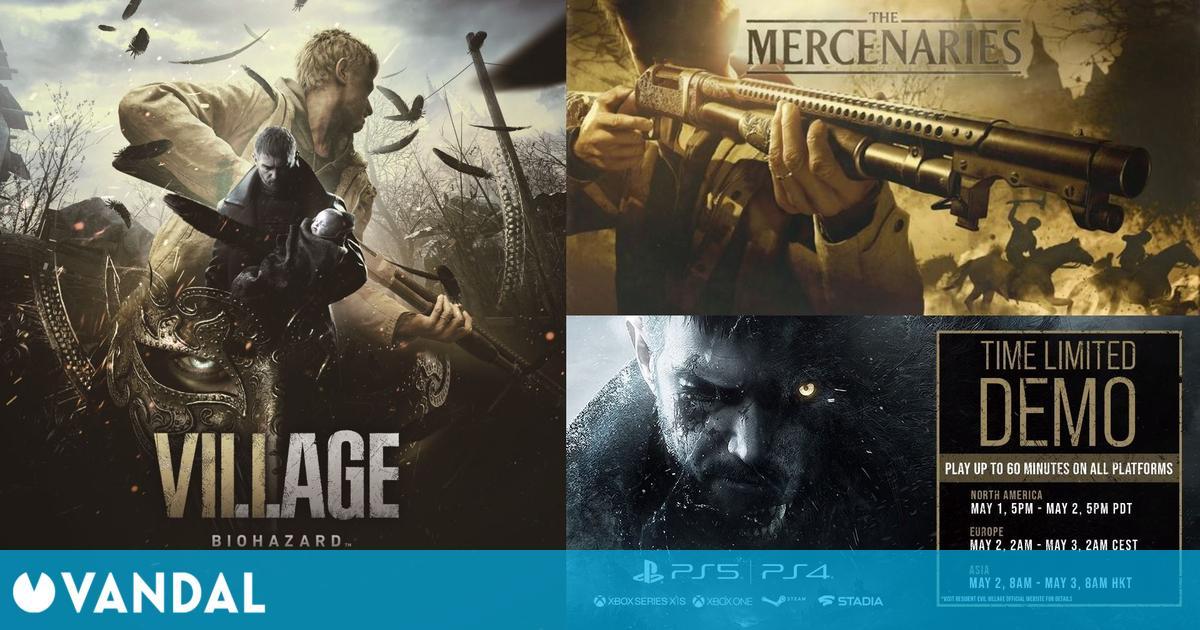 Resumen RE Showcase: Fecha de la demo, nuevo tráiler RE8, anuncio Resident Evil 4 VR…