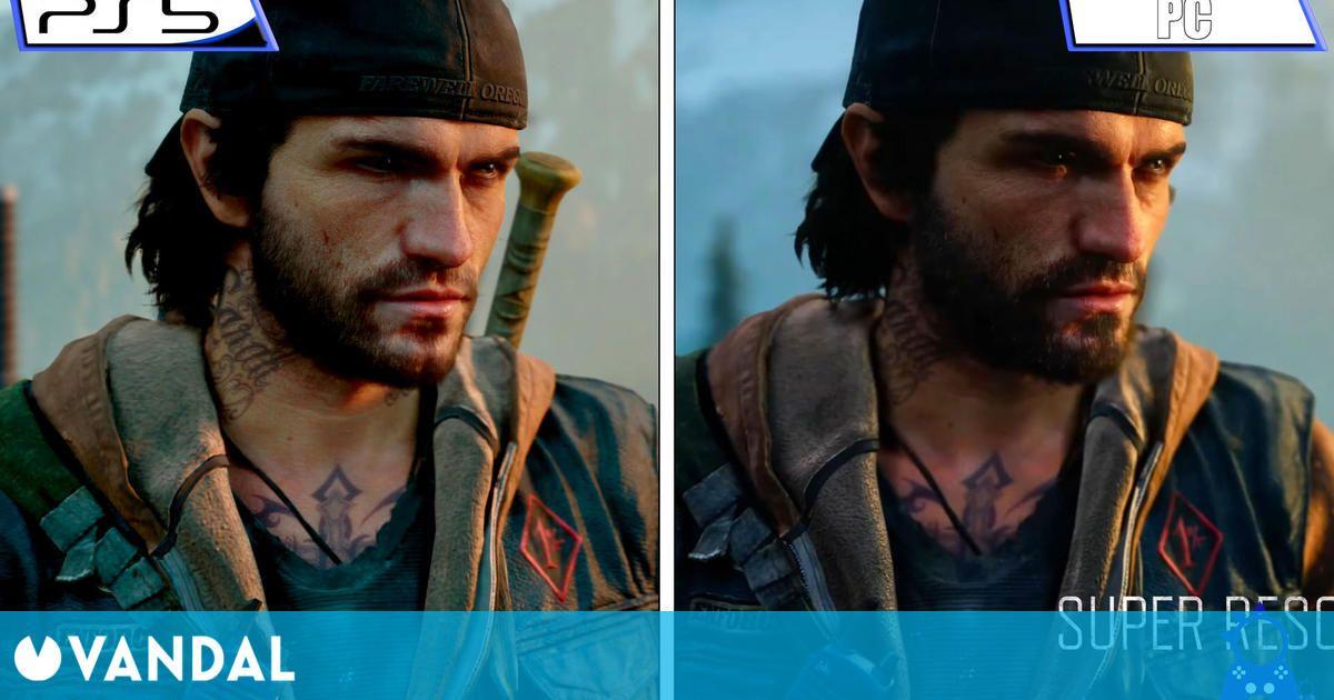 Days Gone: Comparan la versión de PC con la de PS4 ejecutada en PlayStation 5