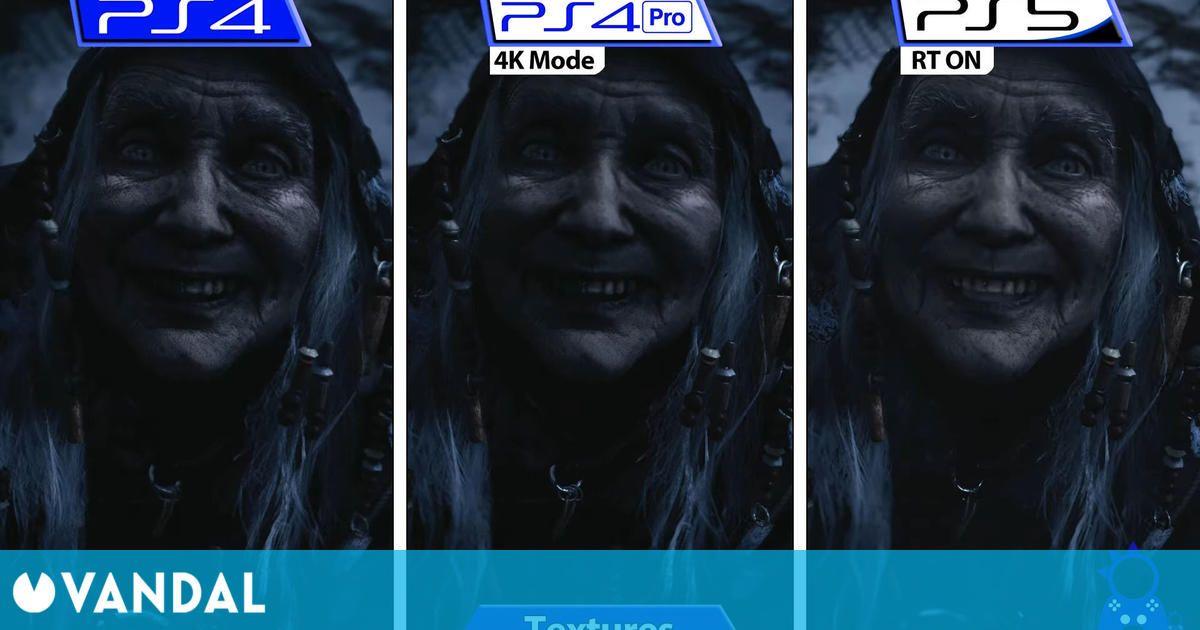 Resident Evil 8 Village: Comparan los gráficos de la demo en PS5, PS4 Pro y PS4
