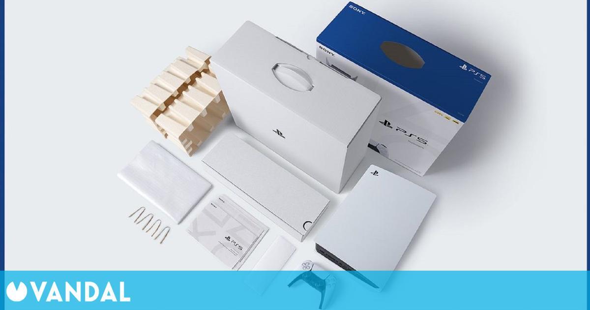 Las cajas de los juegos de PS5 y PS4 usarán materiales reciclados en Europa
