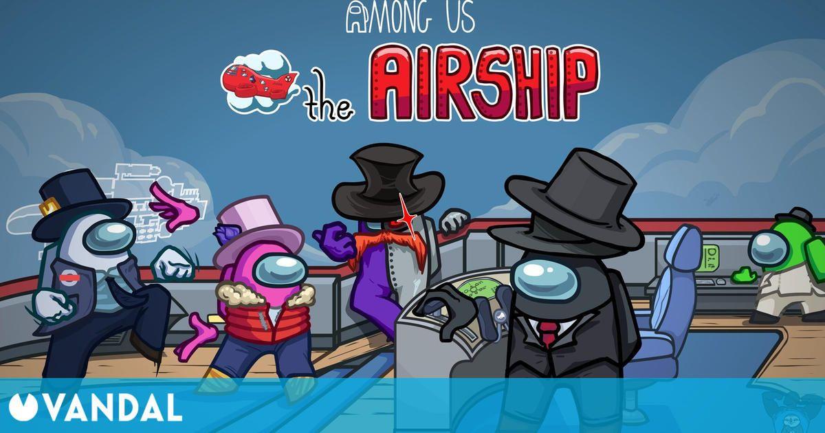 Among Us: El popular título recibe la enorme actualización The Airship, con el mapa nuevo