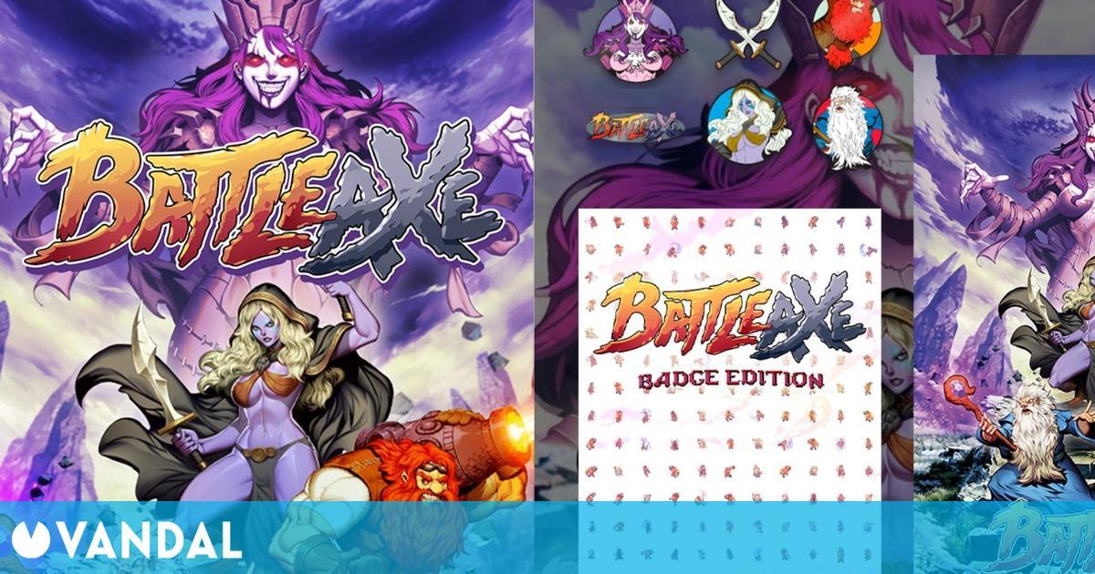 GAME abre las reservas de Battle Axe en su edición Pin Badge Set y póster exclusivo de regalo