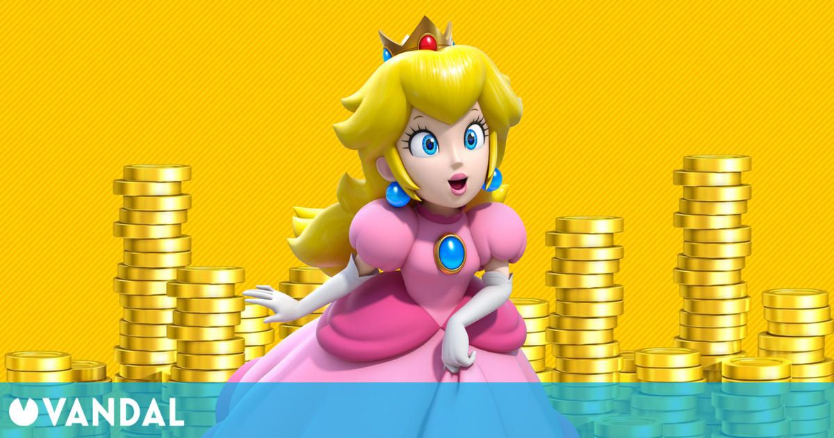 La corona de la Princesa Peach costaría 240 millones de libras en la vida real