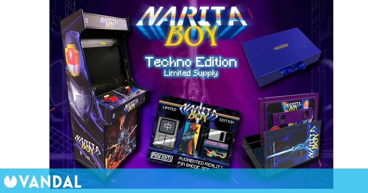 Narita Boy: Techno Edition incluye una cabina arcade real por 9000 euros