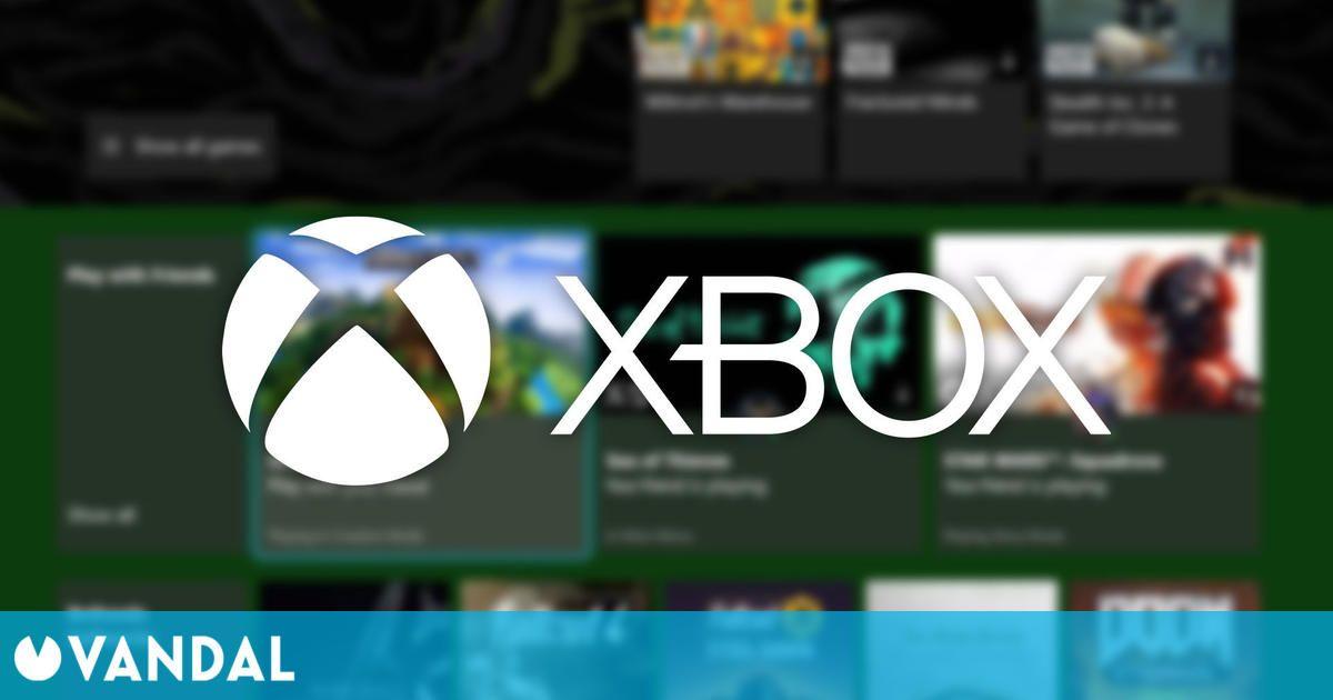 Xbox actualiza su interfaz con novedades para Xbox Game Pass y Quick Resume