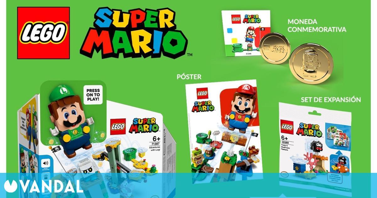 El set interactivo LEGO Super Mario de Luigi ya se puede reservar en GAME