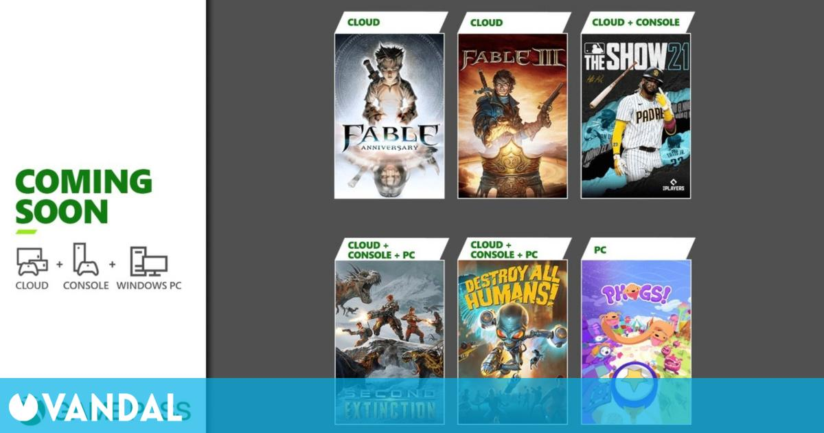Xbox Game Pass recibe este mes Second Extinction, Destroy All Humans!, MLB The Show 21 y más