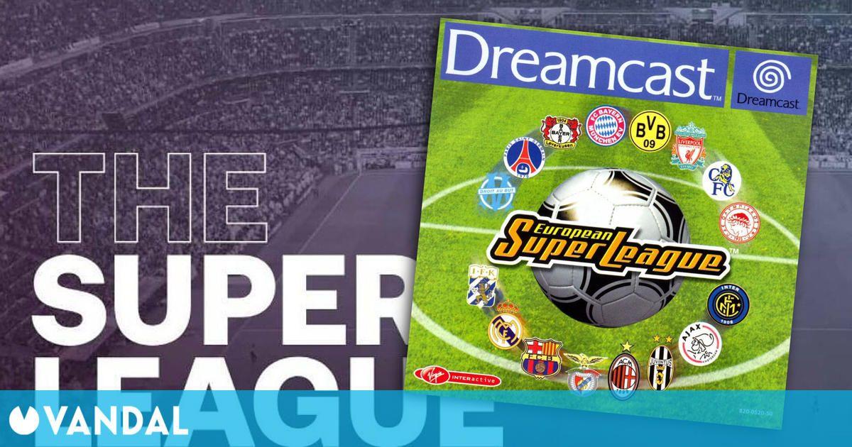 European Super League, el videojuego que predijo la Superliga en el año 2000