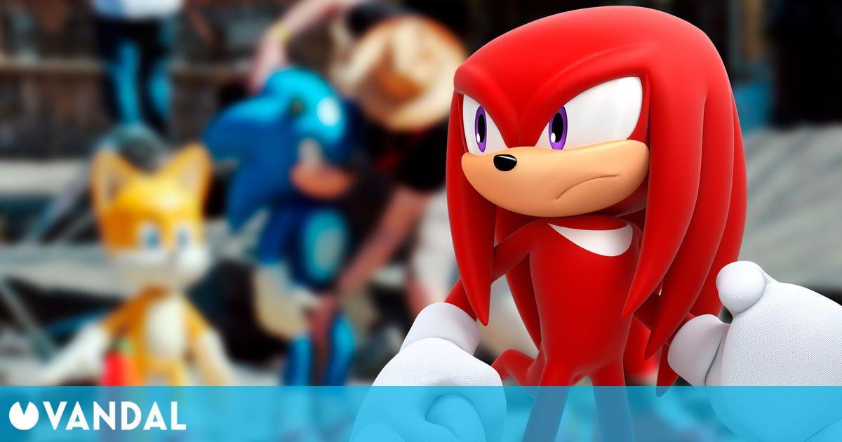 Sonic La Película 2: Fotos del rodaje revelan el diseño de Knuckles