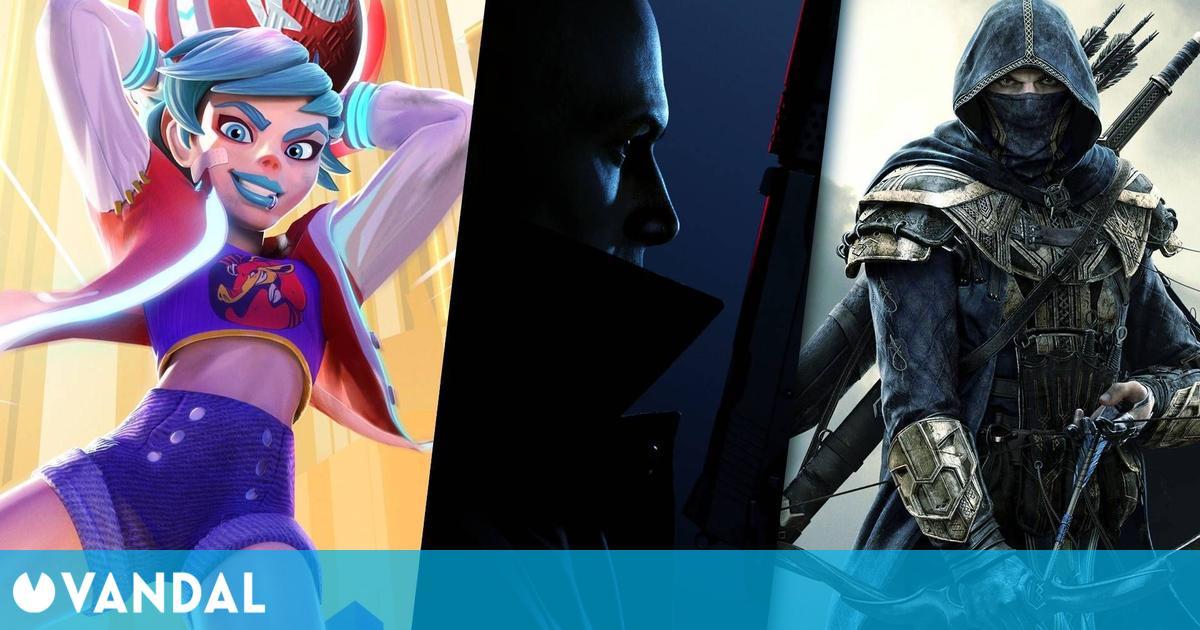 Todos los juegos gratis para disfrutar este fin de semana: Knockout City, Hitman 3 y más