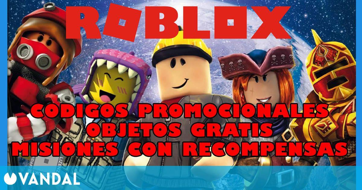 Roblox: Nuevos códigos promocionales de recompensas gratis (Abril 2021)