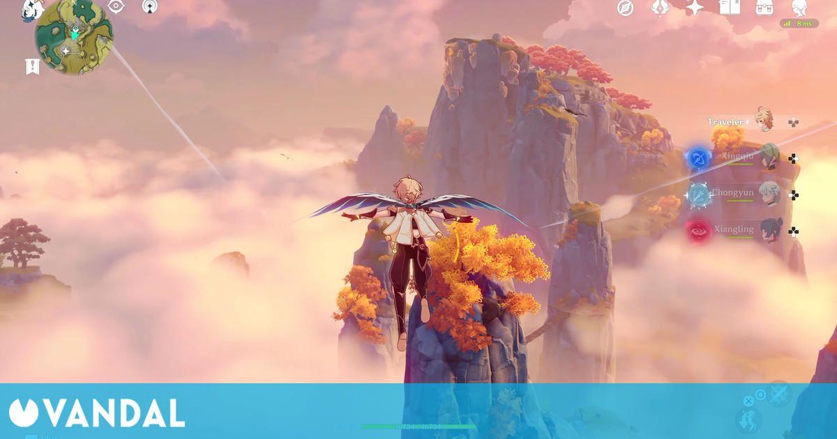 Genshin Impact en PS5 se muestra en un gameplay de 8 minutos
