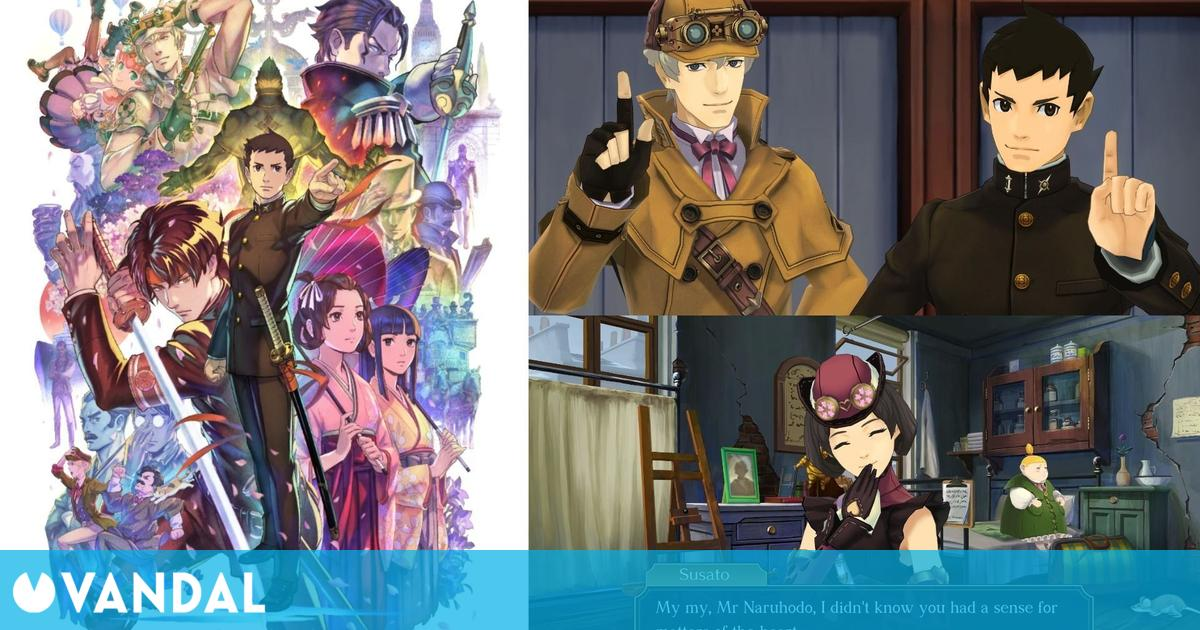 Capcom anuncia The Great Ace Attorney Chronicles para PS4, Switch y PC