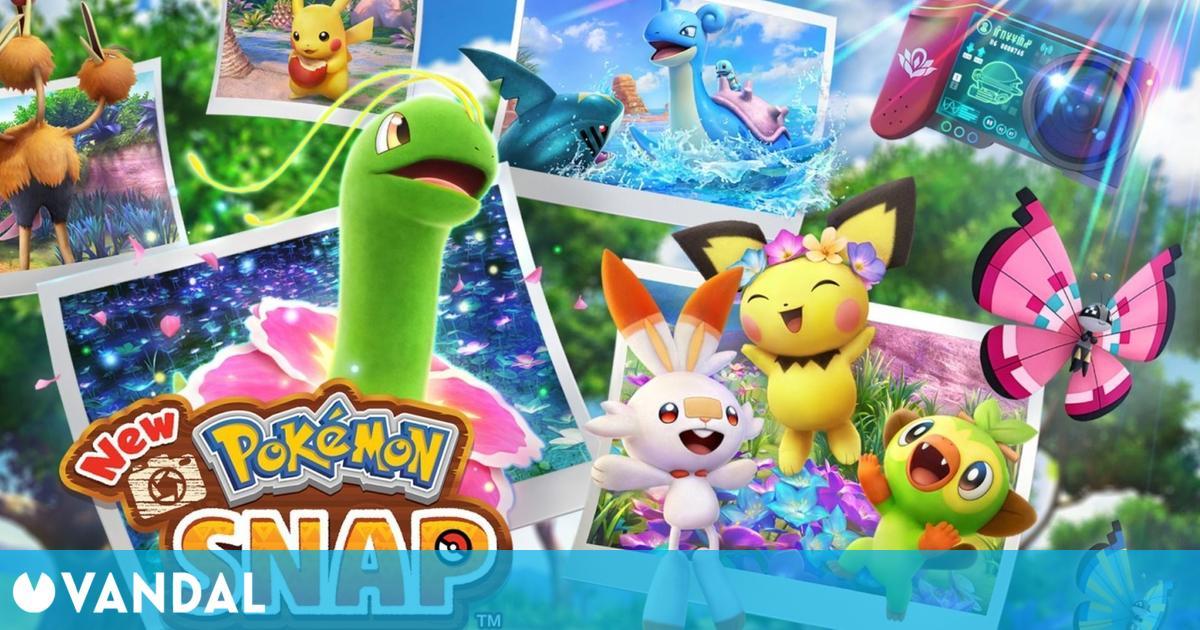New Pokémon Snap nos muestra todas sus posibilidades en un extenso tráiler en español