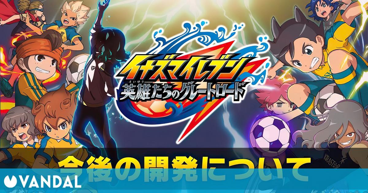 Inazuma Eleven: Great Road of Heroes se retrasa hasta 2023; nuevo gameplay de Switch