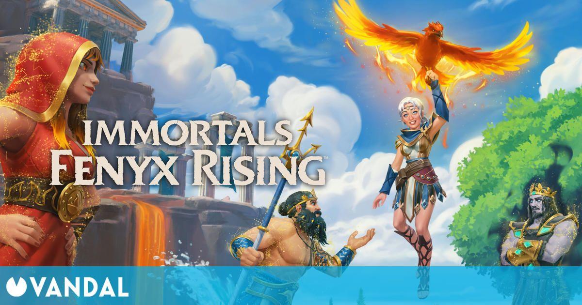 Immortals Fenyx Rising cambia de jugabilidad en Dioses Perdidos, su nuevo DLC ya disponible